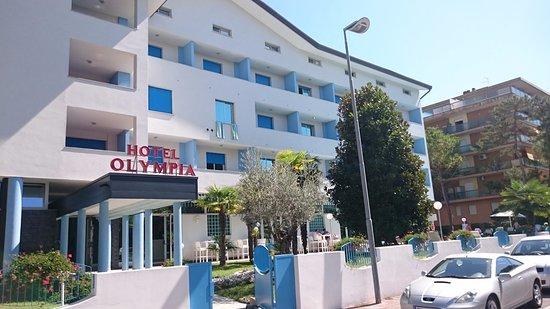 Risultati immagini per hotel olympia lignano